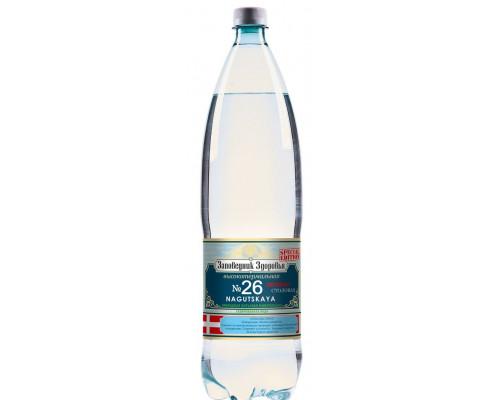 Минеральная вода Нагутская 26 ТМ Заповедник Здоровья, 1,5 л