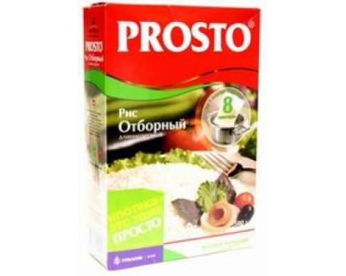 Рис длиннозерный Отборный в пакетиках для варки 8*62.5г ТМ Prosto (Просто)
