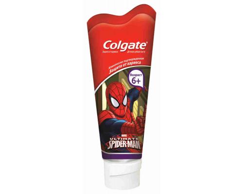 Зубная паста детская Colgate Barbie/Spiderman с 6лет 75мл