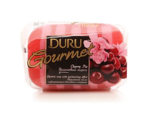 Мыло туалетное Duru Gourmet Вишневый пирог с увлажняющим действием и глицерином ТМ Duru (Дуру)