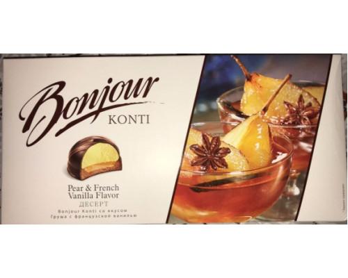 Десерт ТМ Bonjour (Бонжур) souffle, груша с ванилью, 232 г