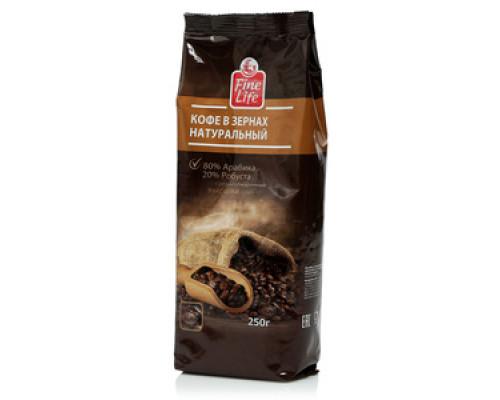 Кофе в зернах ТМ Fine Life (Файн Лайф)