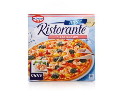 Пицца Ristorante Scampi (Ресторанте Креветки) ТМ Dr.Oetker (Др.Оеткер)