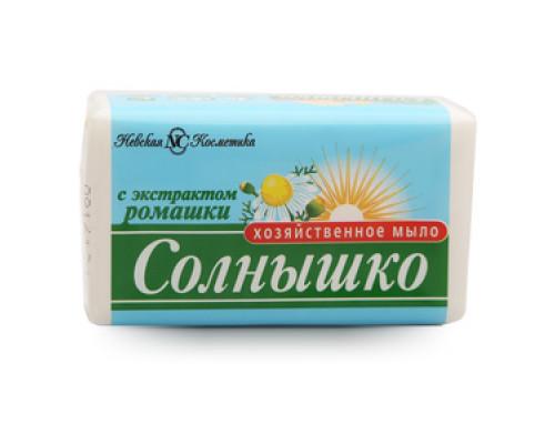 Мыло Солнышко хозяйственное с ромашкой ТМ Невская косметика