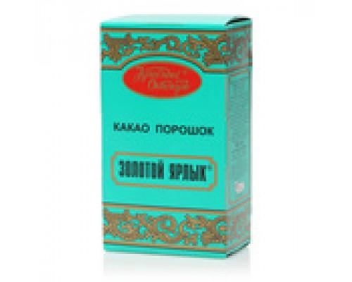 Какао-порошок Золотой ярлык ТМ Красный Октябрь