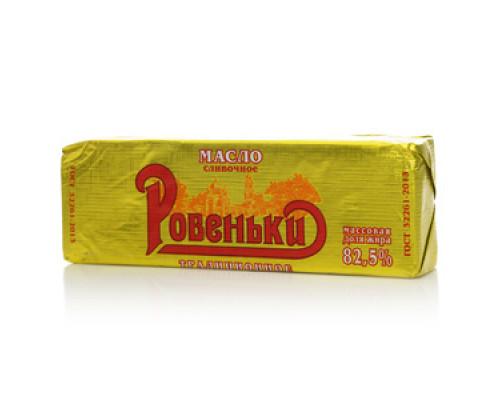 Масло сливочное Традиционное 82,5% ТМ Ровеньки