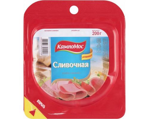 Колбаса Сливочная ТМ КампоМос, вареная, 200 г