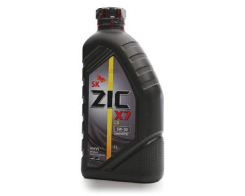 Масло синтетическое моторное  5W-30 ТМ Zic (Зик)