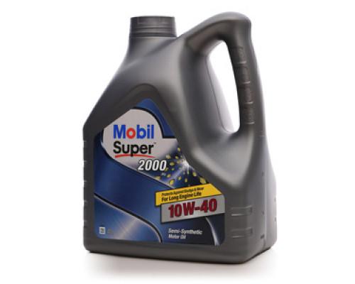 Масло моторное синтетическое 2000 ТМ Mobil Super (мобил супер)