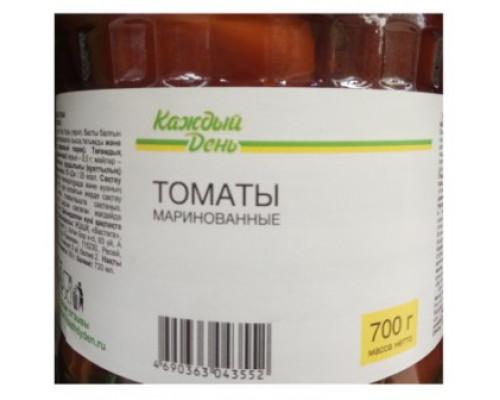 каждый день, томаты маринованные, 700г