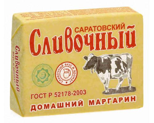 Маргарин ТМ Саратовский, сливочный домашний 60% 180г