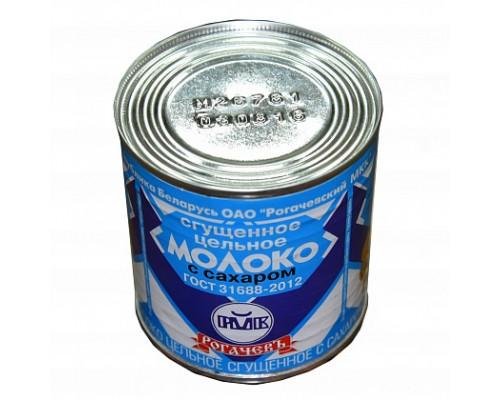 Молоко сгущенное ТМ Рогачевъ с сахаром, 8.5%, 380 г