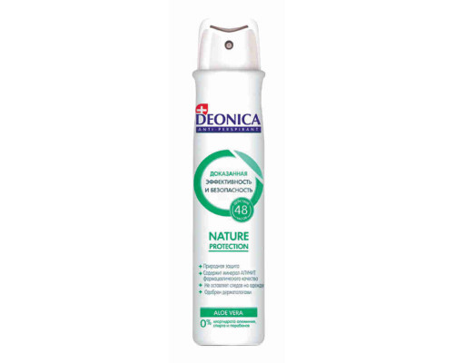 Дезодорант женский Deonica Nature Protection спрей 200мл