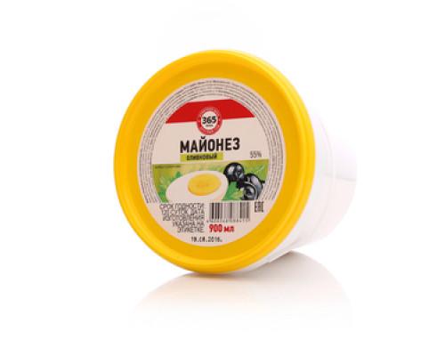 Майонез оливковый 55% ТМ 365 дней