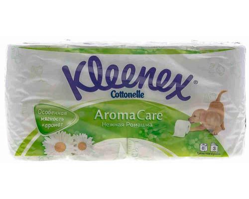 Туалетная бумага Kleenex ромашка 3сл 8рул