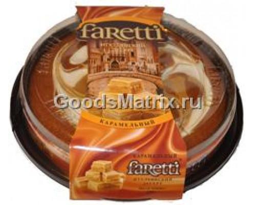 Итальянский десерт ТМ Faretti (Фаретти) со вкусом карамели, 400 г