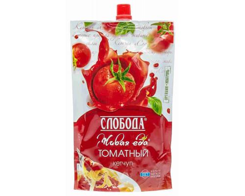 Кетчуп Слобода томатный 350г д/п