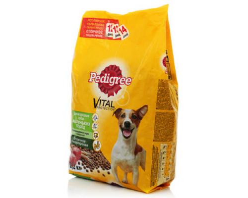 Корм для собак с говядиной ТМ Pedigree (Педигри)