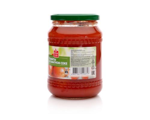 Томаты в томатном соке ТМ Fine Life (Файн Лайф)