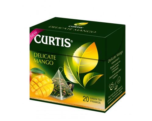 Чай зеленый ТМ Curtis (Кёртис) Delicate Mango, в пирамидках, 20 шт.