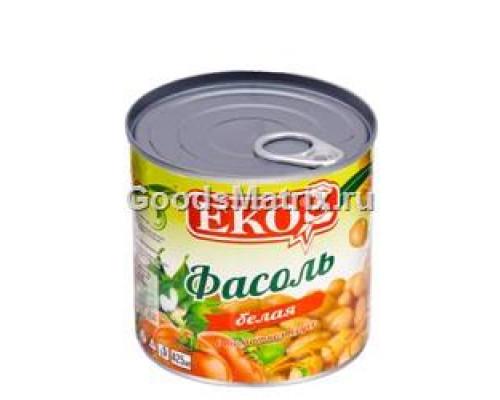Фасоль белая ТМ Eko (Эко) в томатном соусе, 420 г