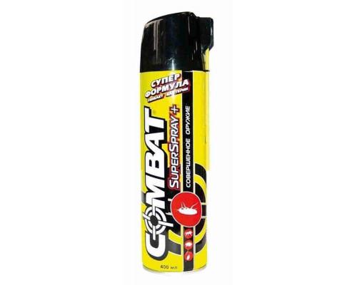 COMBAT SuperSpray Plus Ср-вот от ползающих насекомых 400мл