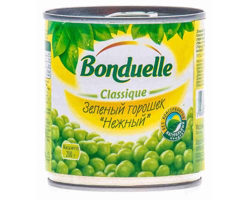 Горошек зеленый Bonduelle 200г ж/б