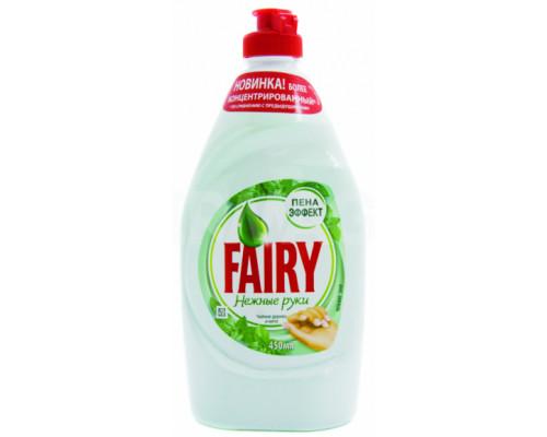 Средство для мытья посуды ТМ Fairy (Фэйри) Нежные руки Чайное дерево и мята, 900 мл