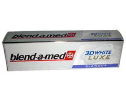 Зубная паста ТМ Blend-a-med 3D-White Luxe, Glamour