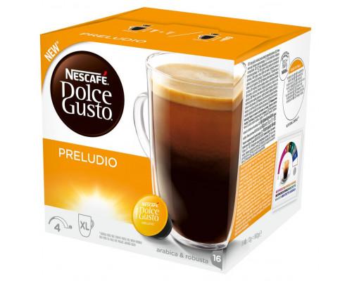 Кофе ТМ Nescafe (Нескафе) Dolce Gusto Preludio, в капсулах, для кофемашины, 16 шт.