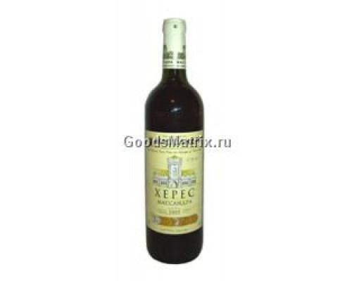 Вино Херес ТМ Массандра, 19,5%, 0,75 л