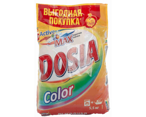 Стиральный порошок Dosia Color автомат 5,5кг