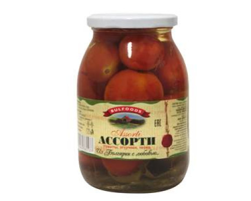 Ассорти: томаты, огурчики, перец ТМ Bulfoods (Балфудс)