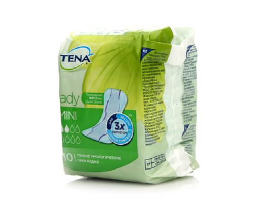 Прокладки урологические Tena Lady Mini 10 шт ТМ Tena Lady (Тена Леди)
