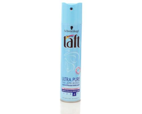 Лак для волос Ultra Pure сверхсильная фиксация ТМ Taft (Тафт)