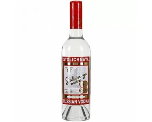 водка Столичная 40% 0,5 л.