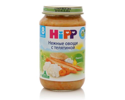 Пюре нежные овощи с телятиной ТМ Hipp (Хипп)