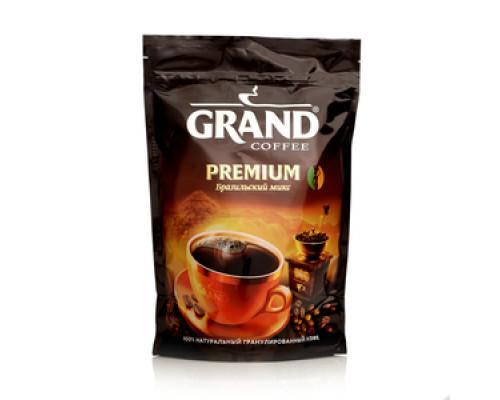 Кофе растворимый гранулированный ТМ ТМ Grand (Гранд)