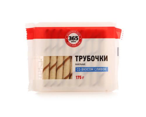 Вафельные трубочки со вкусом сливок ТМ 365 дней