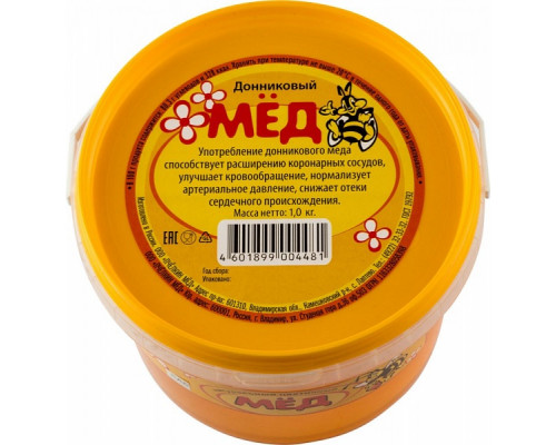 Мёд натуральный Донниковый 1000 г