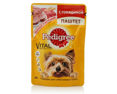 Корм для собак с говядиной паштет ТМ Pedigree (Педигри)