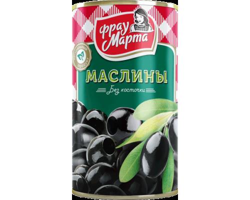 Маслины ТМ Фрау Марта без косточки, 300 г