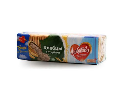 Хлебцы с отрубями ТМ Любятово