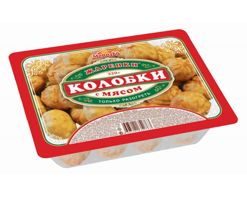 Колобки Морозко Жаренки 320г