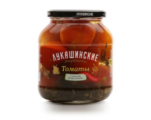 Томаты с хреном и чесноком ТМ Лукашинские маринады