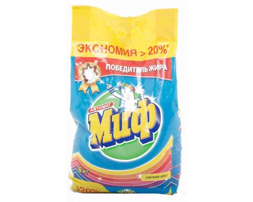 Стиральный порошок Миф Color автомат 6кг
