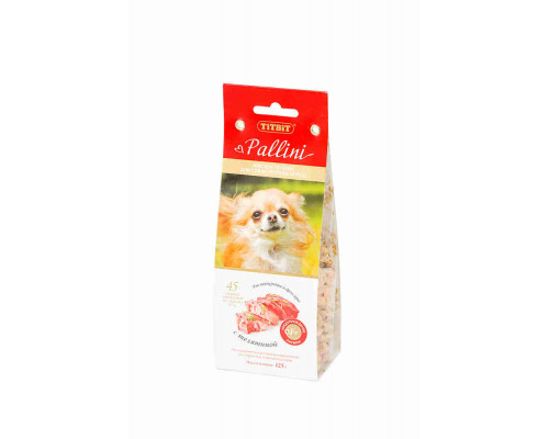 Печенье Pallini с телятиной, 125г