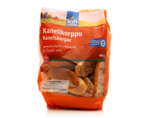 Сухари с корицей Kanelikorppu kanelskorpor TM Kotimaista