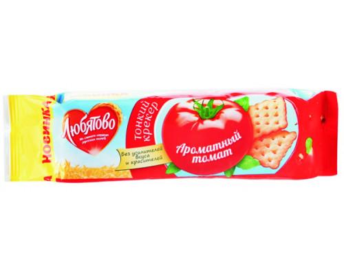 Крекер ТМ Любятово Ароматный томат, 100 г