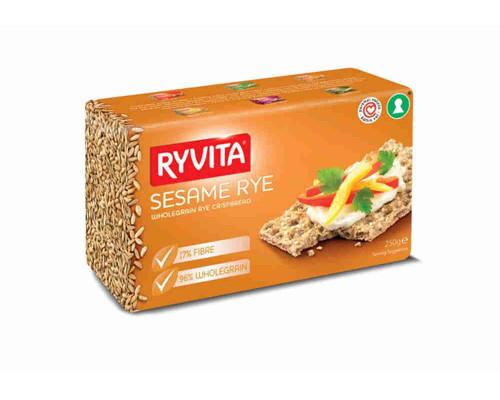 Хлебцы RYVITA из цельного зерна c кунжутом 250г